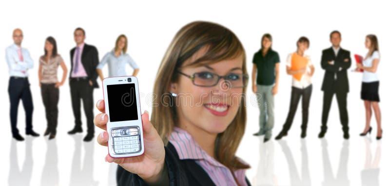 businessteamaffärskvinna arkivfoto