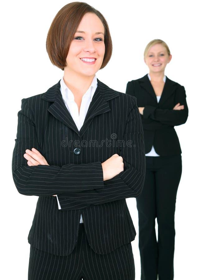 businessteamkvinnlig lyckade två royaltyfri bild