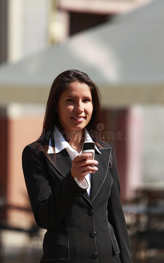 Download Businesswoman stock image. Image of message, decision - 10469391
