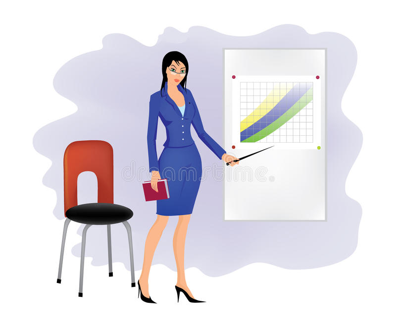 Download Businesswoman stock vector. Illustration of career, manager - 11334513