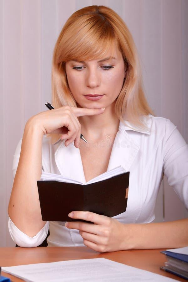 Download Businesswoman stock image. Image of business, indoor - 12279787