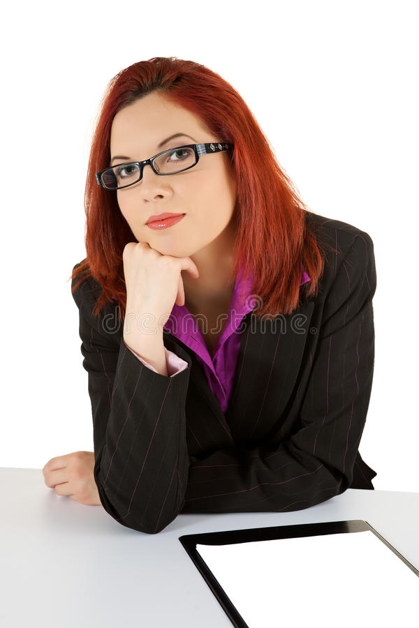 Download Businesswoman stock image. Image of folder, black, people - 14682103