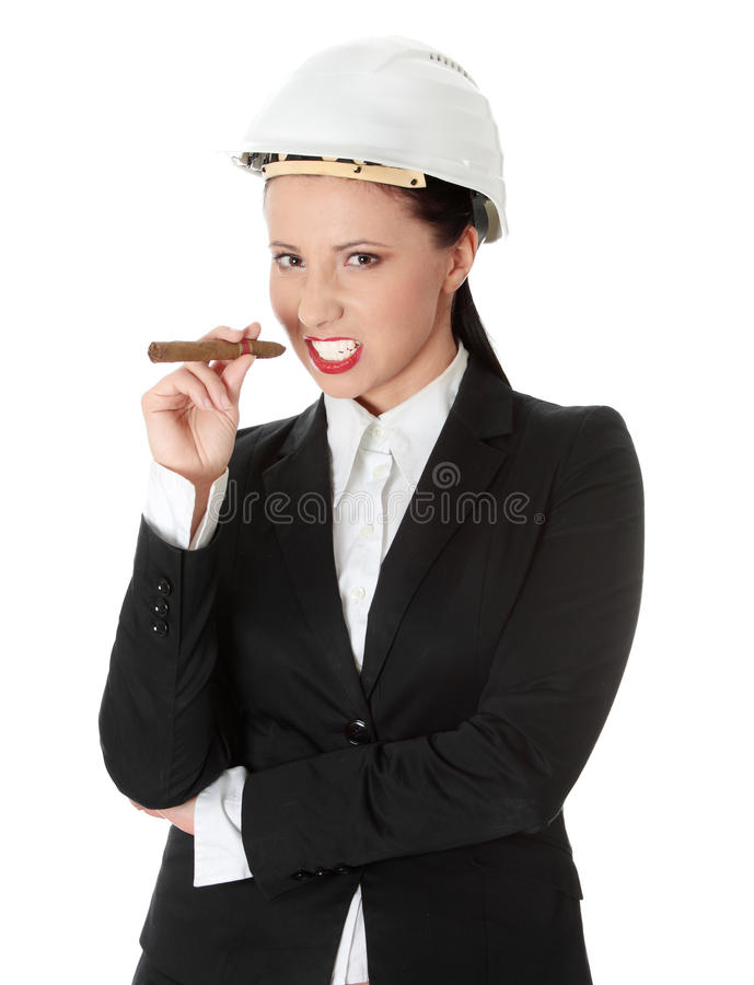 Download Businesswoman stock image. Image of attack, angry, business - 17299183