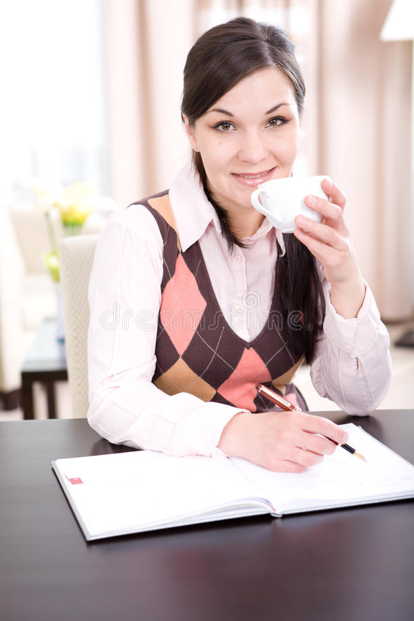 Download Businesswoman stock image. Image of morning, caucasian - 17707817