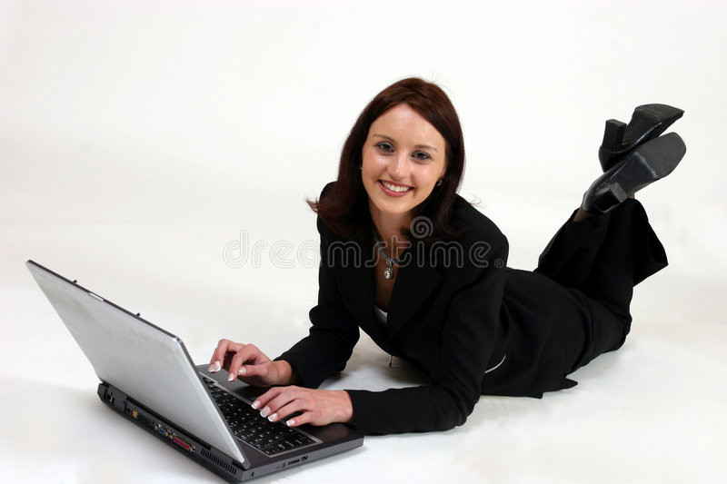 Download Businesswoman stock image. Image of office, black, attractive - 183279