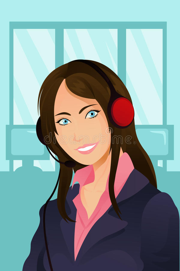 Download Businesswoman stock vector. Image of business, pretty - 19148837