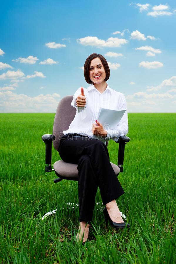 Download Businesswoman stock photo. Image of adult, model, fresh - 25112246