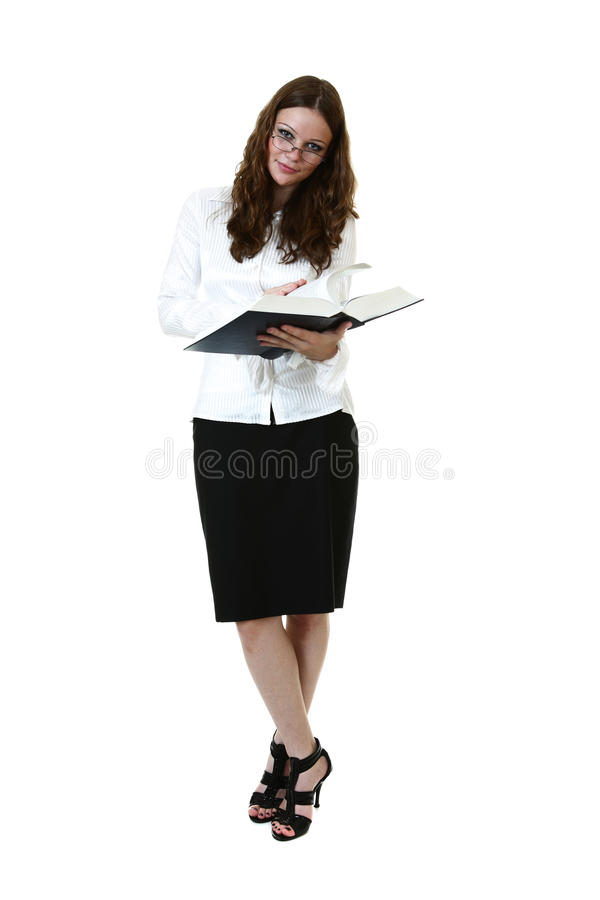 Download Businesswoman stock photo. Image of attentive, black - 28785958