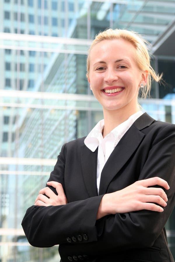 Download Businesswoman zdjęcie stock. Obraz złożonej z szczęśliwy - 3034090