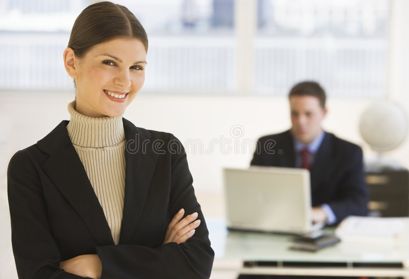 Download Businesswoman stock photo. Image of looking, office, smiling - 3251352