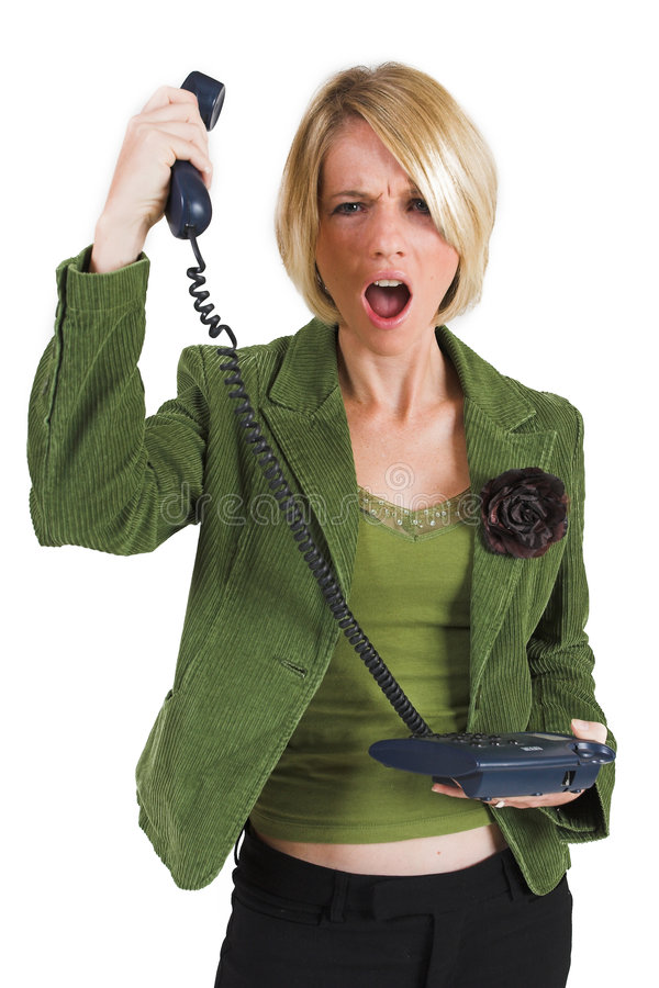 Download Businesswoman #42 stock image. Image of black, jacket, furious - 152901