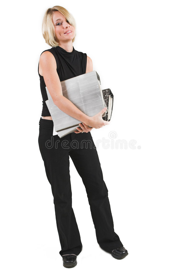 Download Businesswoman #49 stock photo. Image of file, paperwork - 157308