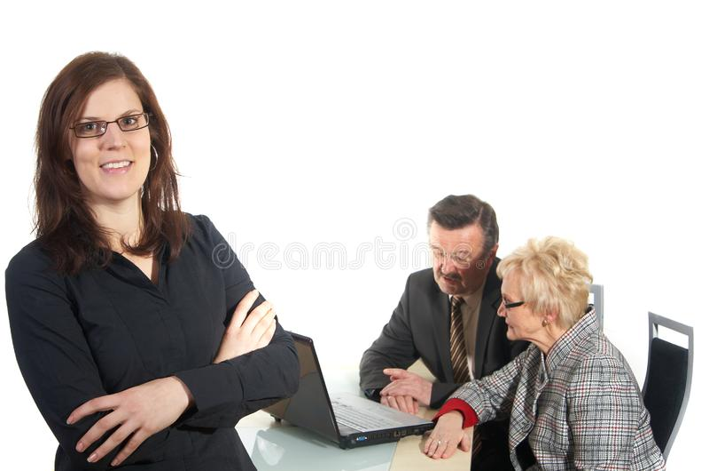 Download Businesswoman stock photo. Image of businessman, happy - 8351546