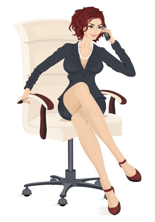 Businesswoman stock illustration
