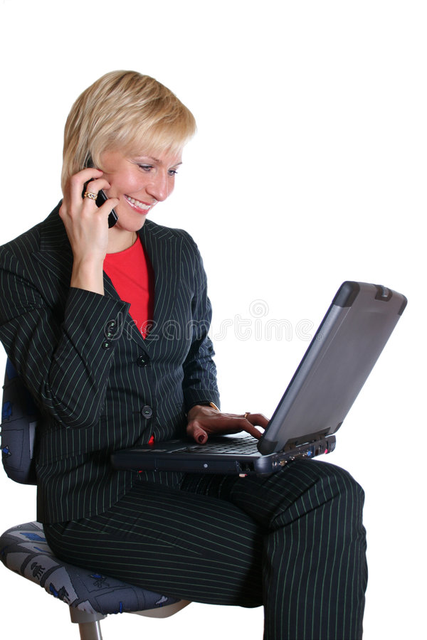 businesswoman obraz royalty free