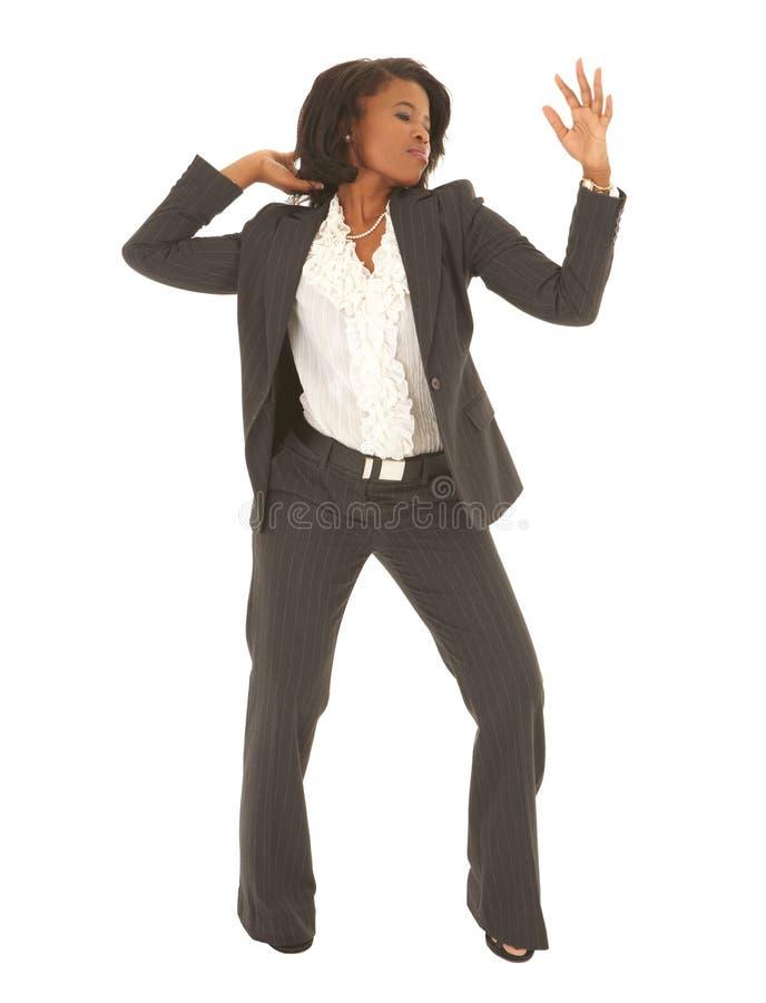 businesswoman afrykańska sexy fotografia stock