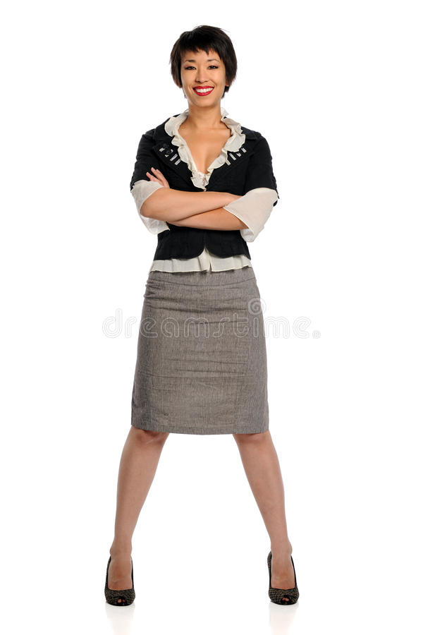 Businesswoman With Arms Crossed stock photos