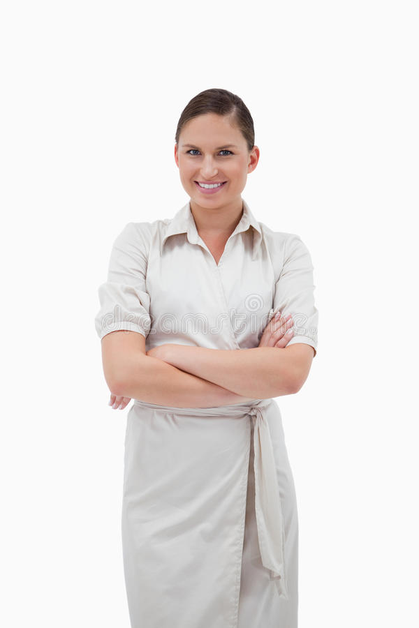 Download Businesswoman With The Arms Crossed Stock Photo - Image: 22662172