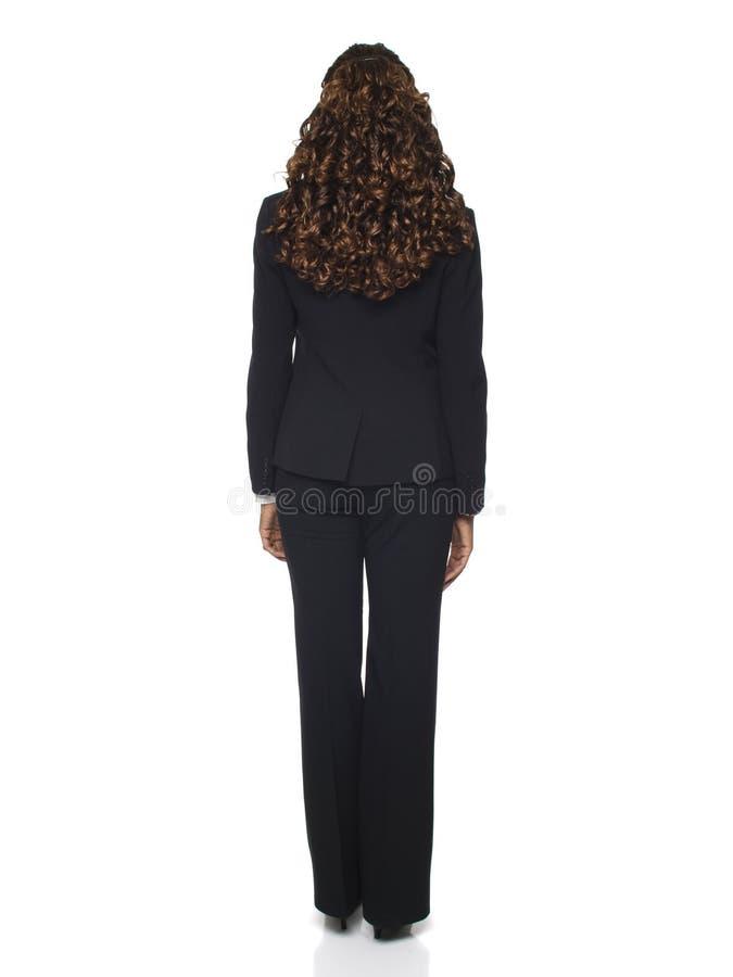 Businesswoman - Backside stock photo