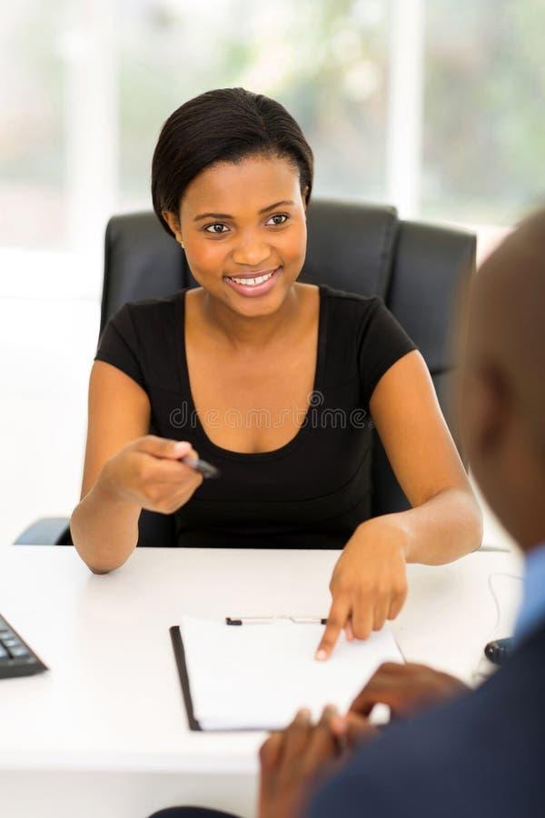 Businesswoman business partner stock photography