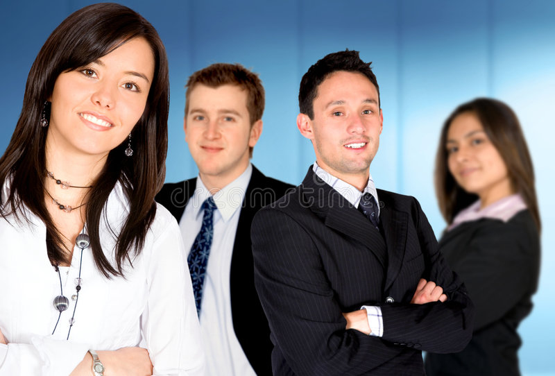 Download Businesswoman - Business Team Stock Photo - Image: 2601696