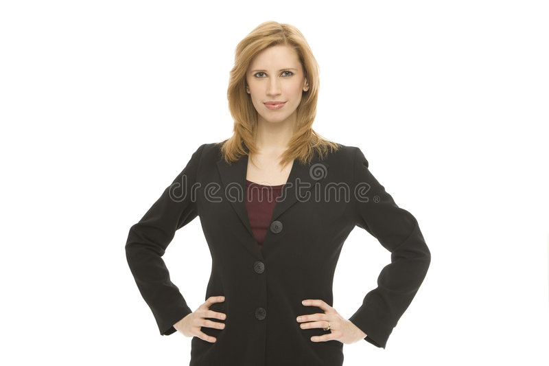 Download Businesswoman With Confidence Stock Image - Image: 2277151