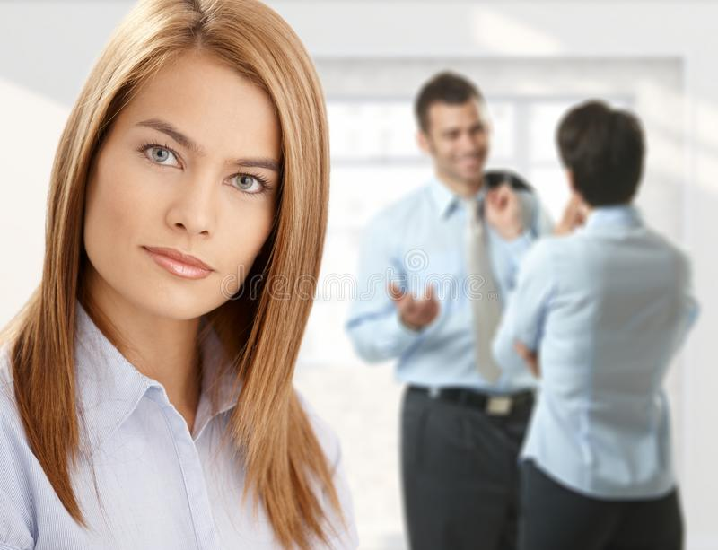 Download Businesswoman With Coworkers Stock Photo - Image: 18040068