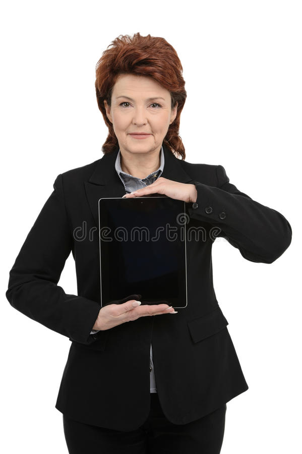 Download Businesswoman With Digital Tablet Stock Images - Image: 32139654