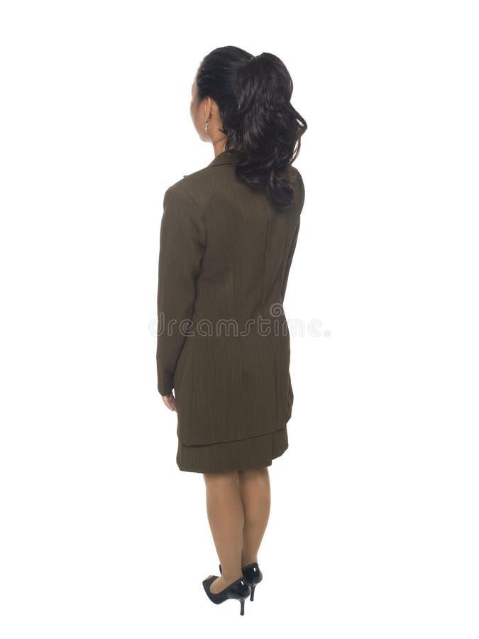 Businesswoman - facing away stock photos