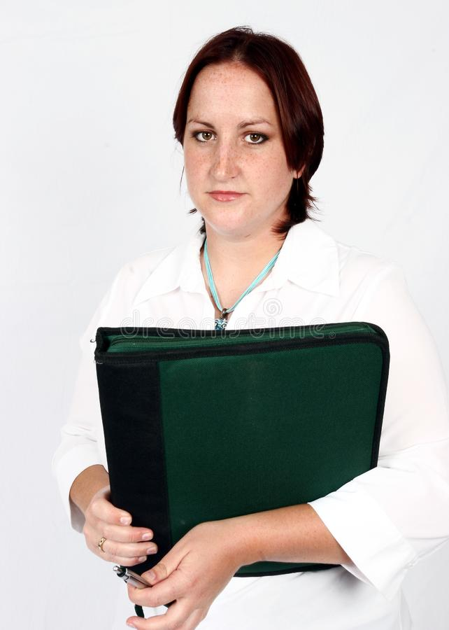 Download Businesswoman with file stock image. Image of entertainment - 416795