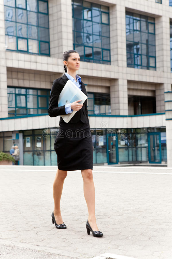 Download Businesswoman Going On Work Stock Image - Image: 19693725