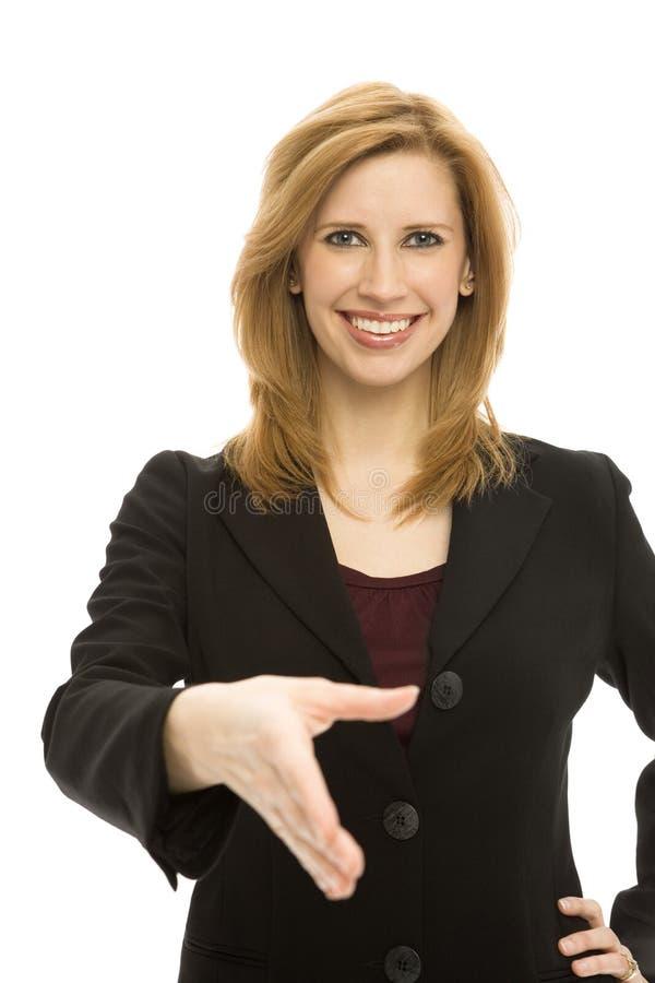 Download Businesswoman handshake stock photo. Image of pact, corporate - 2385874