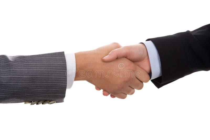 Businesswoman handshake royalty free stock image