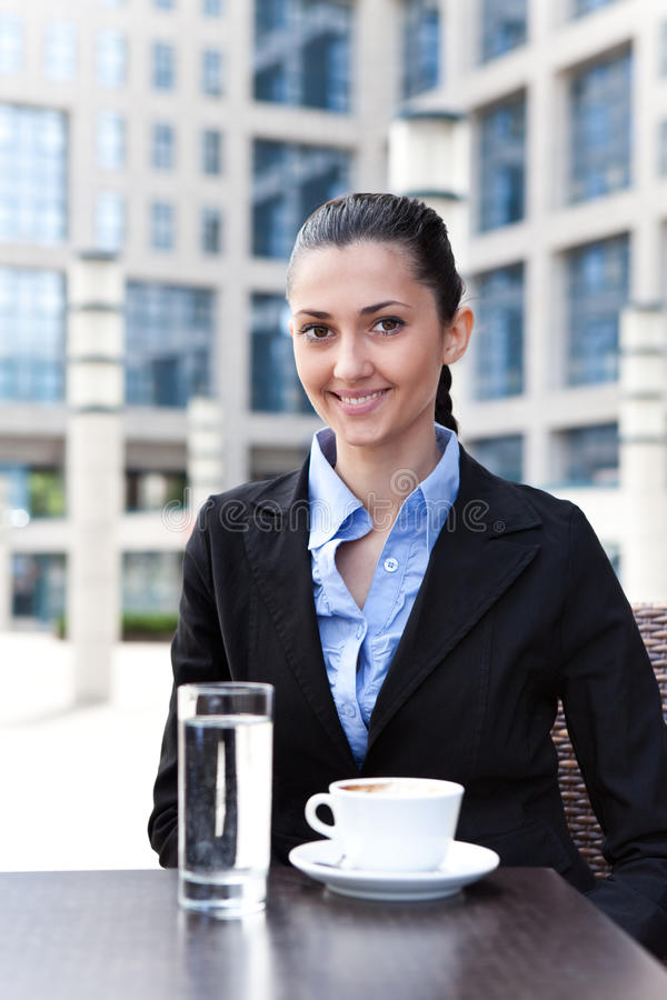 Download Businesswoman having break stock image. Image of alone - 19693961