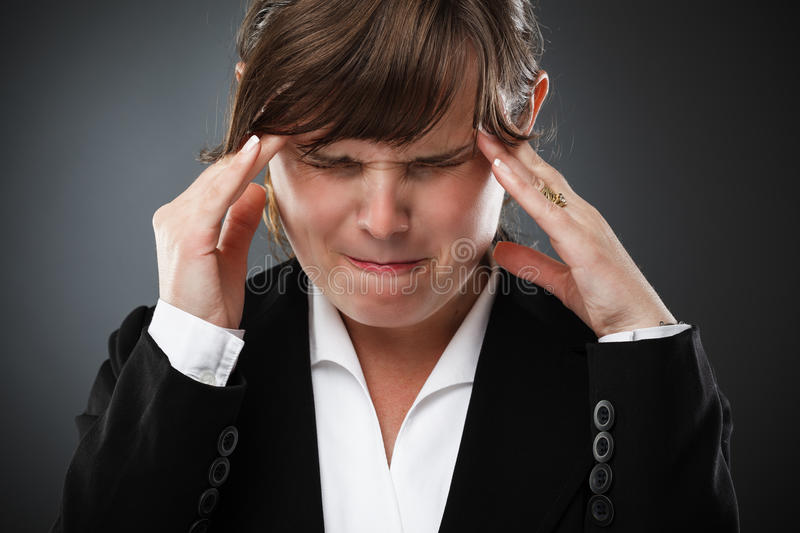 Download Businesswoman With Headache Royalty Free Stock Photo - Image: 25320025