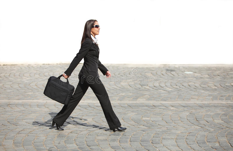 Download Businesswoman In A Hurry Stock Images - Image: 9411314