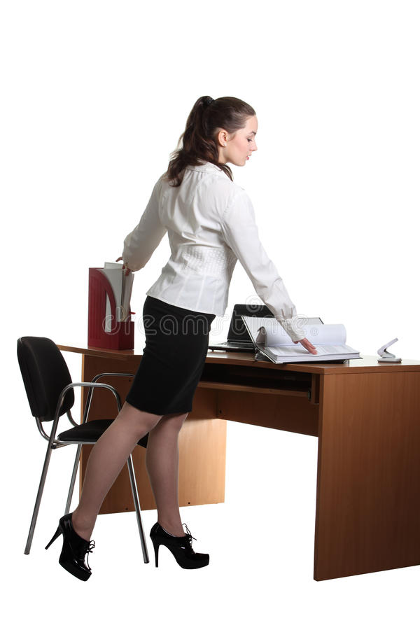 Free Businesswoman In The Office Stock Images - 18355534