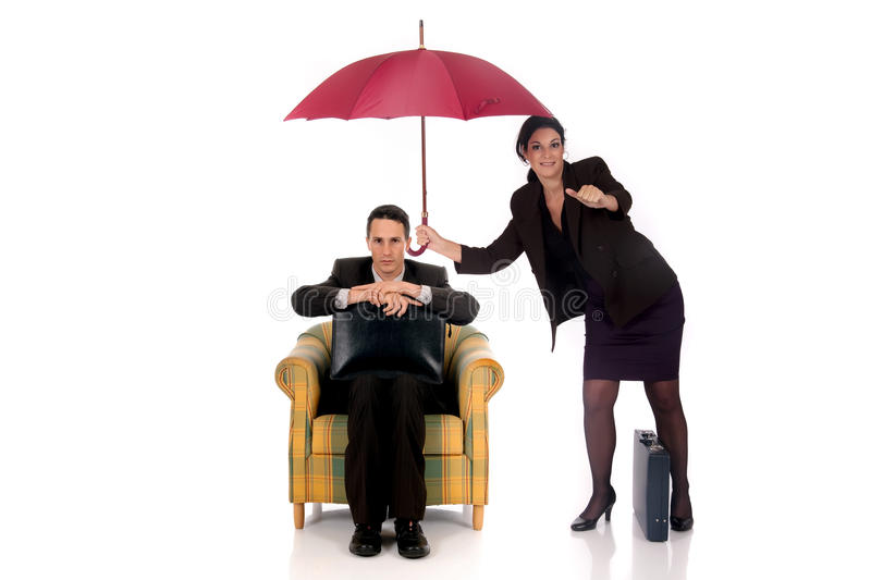 Download Businesswoman Insurance Agent Stock Image - Image: 11617885
