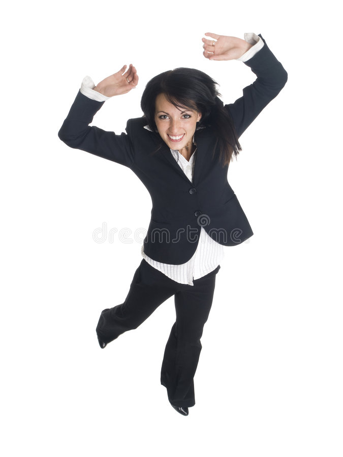 Download Businesswoman - Jump For Joy Stock Photo - Image of leaping, cheerful: 6505542