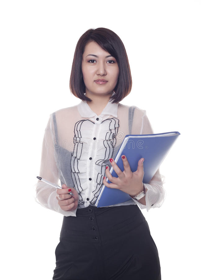 Businesswoman, Kazakh Girl Stock Photos