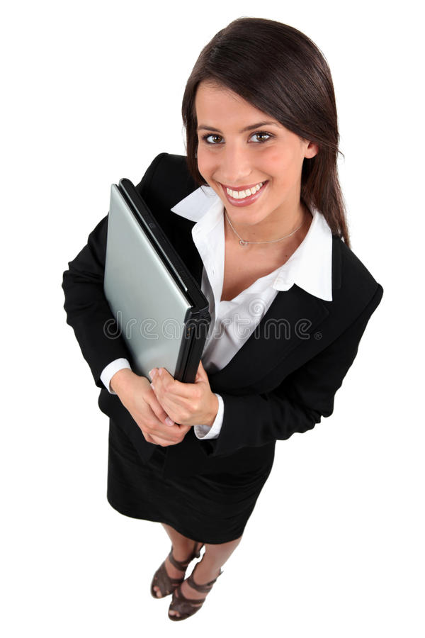 Download Businesswoman With Laptop Stock Images - Image: 24378984