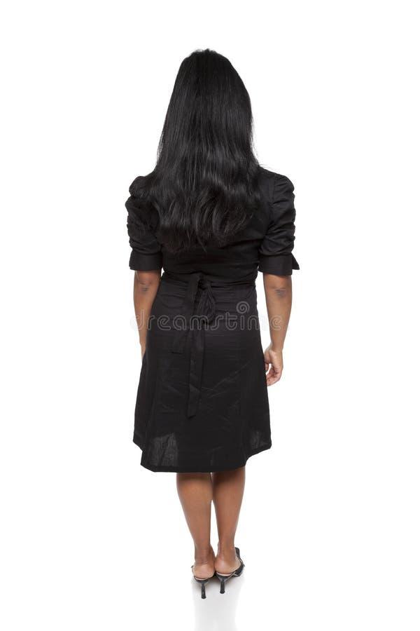 Businesswoman - Latina back side stock photo