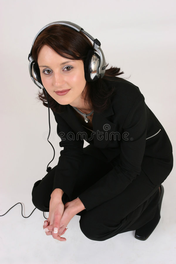 Free Businesswoman Listening To Her Favorite Music Stock Photo - 295240