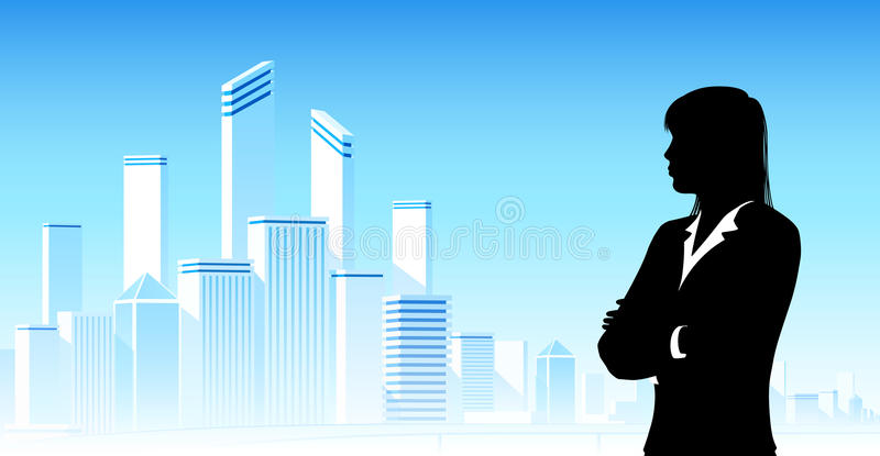Download Businesswoman Looking At City Royalty Free Stock Photo - Image: 36207335
