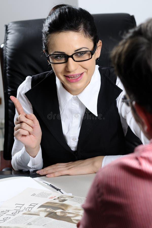 Download Businesswoman negotiating stock photo. Image of beautiful - 12615084