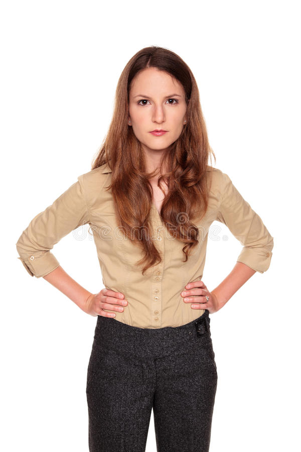 Download Businesswoman - Neutral Expression Stock Image - Image of adults, shot: 17864817