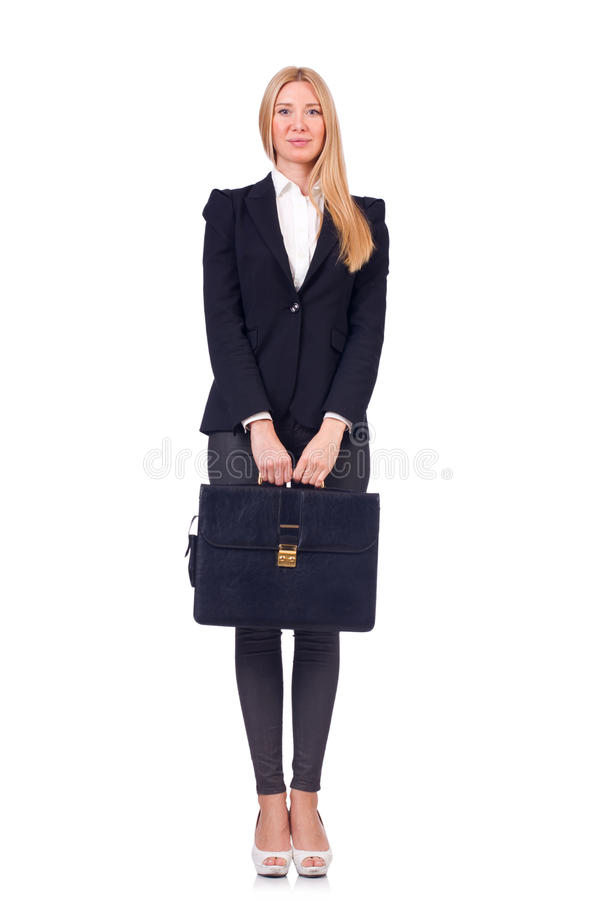 businesswoman odizolowane obrazy royalty free