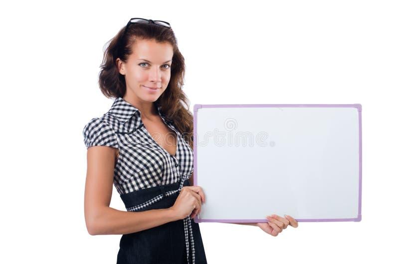 businesswoman odizolowane obrazy stock