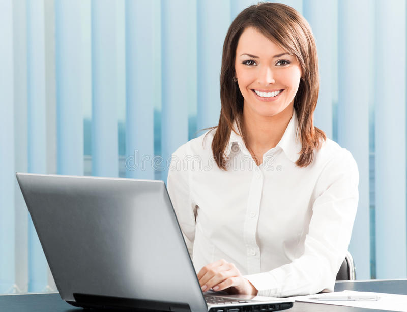 Download Businesswoman at office stock photo. Image of office - 14313102