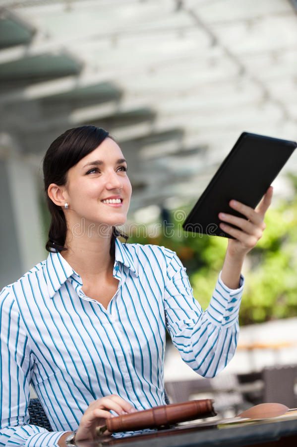 Download Businesswoman Paying Bill stock image. Image of pretty - 11925859